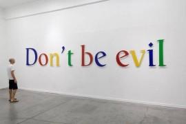 不作恶-Don't Be Evil